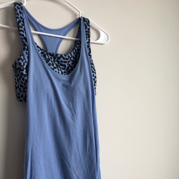 lululemon athletica Tops - Lululemon tank with attached bra